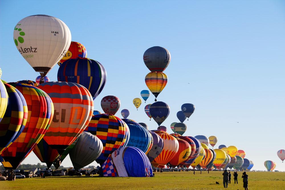 Воздушные шары во Франции