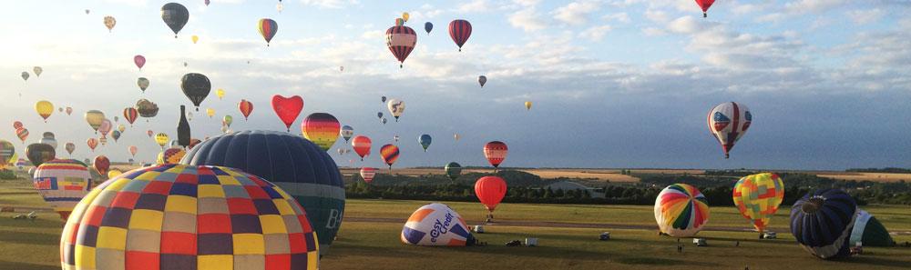 Полеты на воздушных шарах и дирижаблях на фестивале во Франции