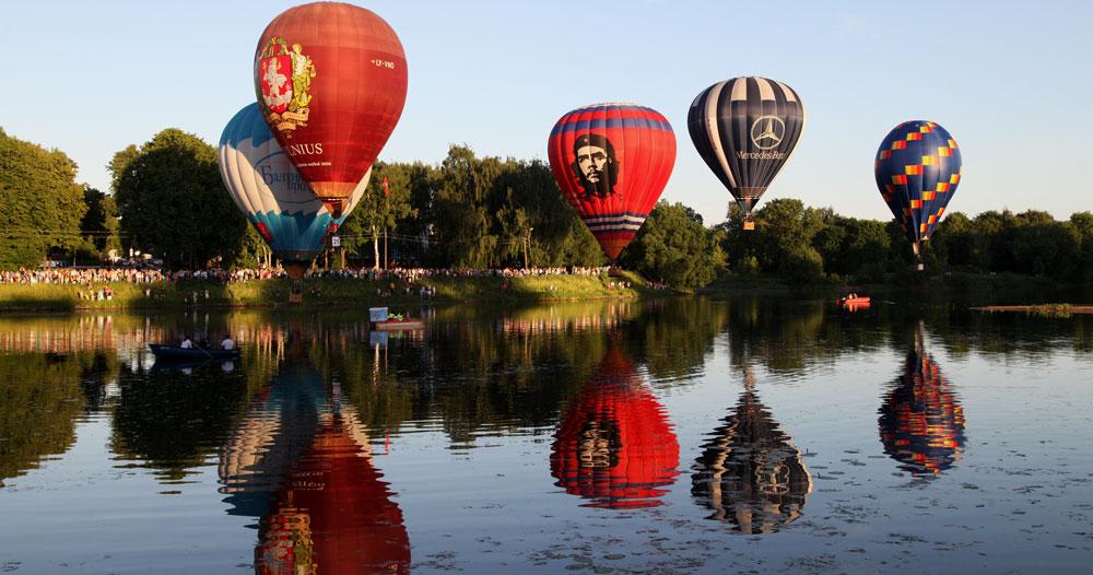 Чемпионат России по воздухоплаванию в Великих Луках